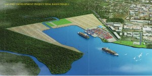 Online view of completed LAE tidal basin project Phase #1