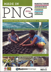Made In PNG 2014 Magazine cover